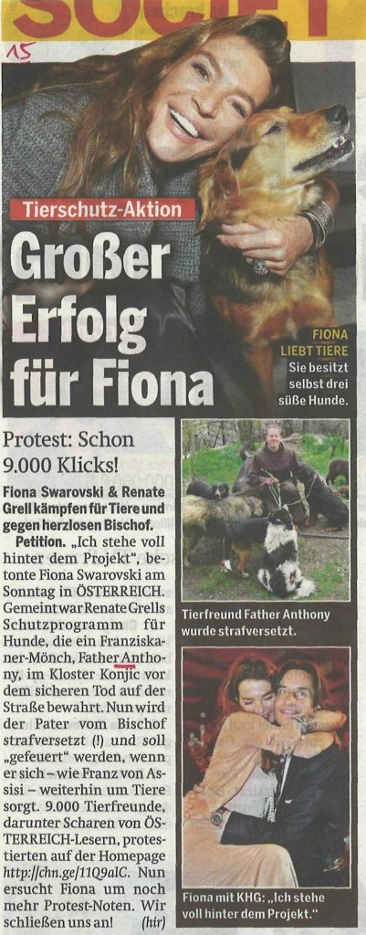 Österreich v 5 7 13 Fiona Grosser Erfolg
