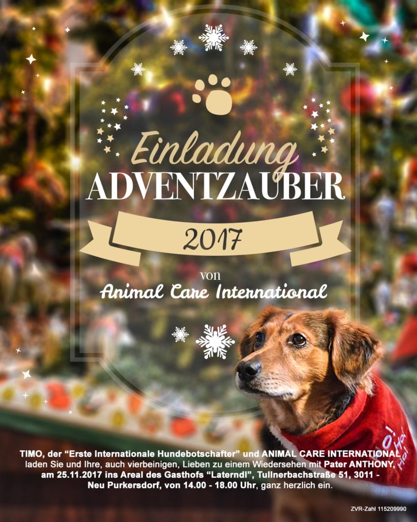Einladung Adventzauber 2017