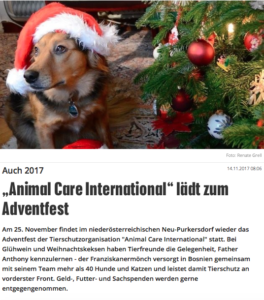 Adventzauber 2017 in der Krone