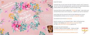 Einladung Maifest 2018