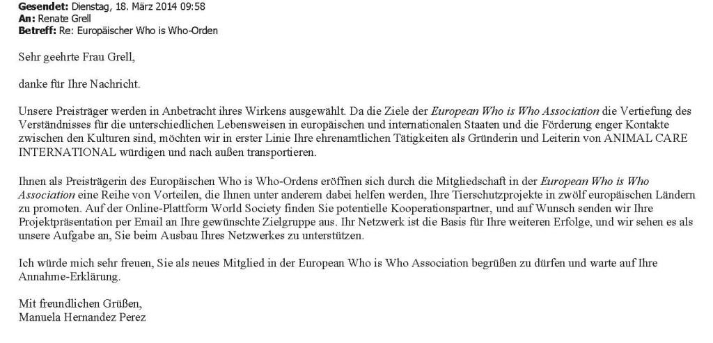 AW_ Europäischer Who is Who-Orden
