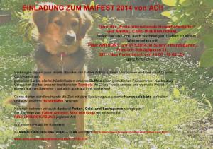 Einladung zum ACI Maifest 2014