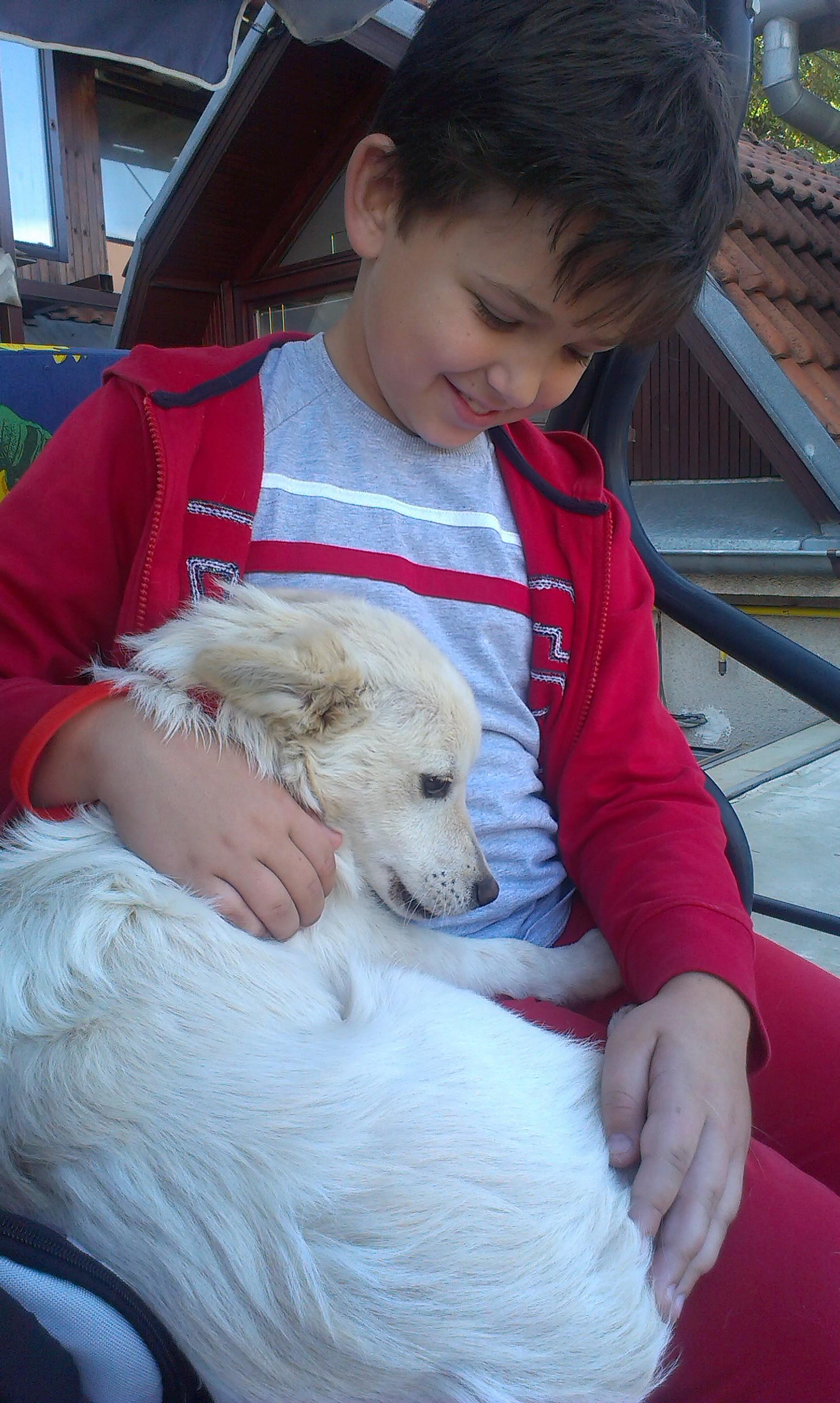 Alan mit Bailey