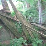 Zerstörung nach dem Hochwasser