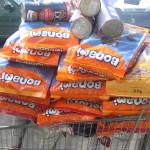 Futterspenden für die Hochwasseropfer