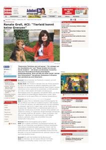 Renate Grell, ACI_Tierleid kennt keine Grenzen_ - Auslandstierschutz - Tierecke - krone.at_Seite_1